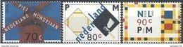 1993 PAYS BAS 1462-64 ** Tableaux, Mondrian, Moulin - Neufs