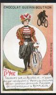 Chomo Guerin Boutron, Sujets Annonces, Dame, Cycliste - Guérin-Boutron