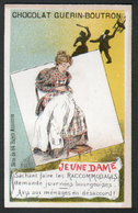 Chomo Guerin Boutron, Sujets Annonces, Jeune Dame - Guérin-Boutron