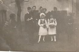 """Photo 1915 MONCEL-LES-LUNEVILLE - """"la Journée Du 75"""", Costume, Dragon (A216, Ww1, Wk 1) - Otros Municipios"""