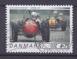 Denmark 2006 Mi. 1433 4.75 Kr. Classic Sports Cars Klassische Rennwagen Alfa Dana Midget Swebe-Jap - Danimarca