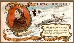 CHOCOLAT GUERIN BOUTRON  LES MOINES DU ST BERNARD - Guerin Boutron