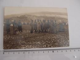 CPA Photo Militaria Offiicers Du 53° Colonial à Miehlen En 1919 Michel Clemenceau - Guerra 1914-18