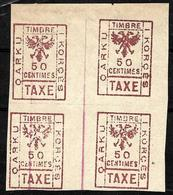 626 - ALBANIA - 1915-18 - LOCAL ISSUES - TAXE, POSTAL DUE?? - FORGERY, FALSE, FAKE, FAUX, FALSO, FALSCH - Timbres