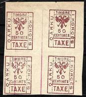 626 - ALBANIA - 1915-18 - LOCAL ISSUES - TAXE, POSTAL DUE?? - FORGERY, FALSE, FAKE, FAUX, FALSO, FALSCH - Briefmarken