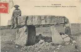 MORGAT, Environs, Menhir De Rostudel, édition MTIL, Rare CPA - Morgat