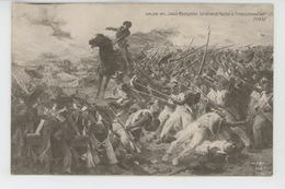 NAPOLEON - TABLEAUX - SALON 1911 - Le Général HOCHE à FROESCHEWILLER  - Par Louis Malespina - Personnages Historiques