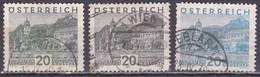 Osterreich / Austria 1929 Dürnstein 20 G Grau Mi 503 3 Verschiedenen Farben ! - 1918-1945 1ste Republiek