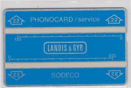 GENERIC   L&G   SERVICE012G  25219 - Phonecards