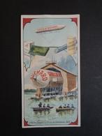 CHROMO . SUCHARD.  Série 143.  BALLON   ZEPPELIN Sur Le Lac De Constance. En 1900 - Vieux Papiers