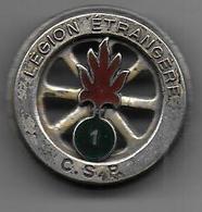 Légion  - 1er REI  C.S.P.  - Insigne Drago Paris - Heer