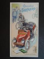 CHROMO . SUCHARD.  Série 149.  Les  SPORTS.  AUTOMOBILISME - Vieux Papiers