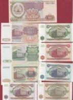 Tadjikistan  9 Billets ---UNC - Tadzjikistan