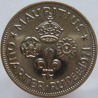 Mauritius 1/4 Rupee 1971 UNC - Mauricio