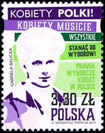 Poland 2019 Fi 5029 Mi 5179 Women's Election Rights In Poland - Nuevos