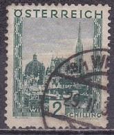 Osterreich / Austria 1929 Stefansdom 2 S Opalgrün Mi 511 - 1918-1945 1ste Republiek