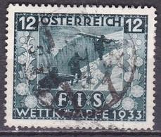 Osterreich / Austria 1933 Jugendwohlfahrt FIS- Wettkämpfe In Insbruck 12 + 12 G  Mi 551 - Gebraucht