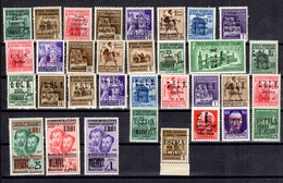 Italie/CLN Petite Collection D'Istra, Cuvio, Arona, Savona Et Imperia. Neufs **/*. TB. A Saisir! - 4. 1944-45 Sozialrepublik