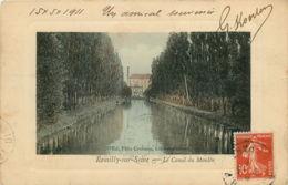 10* ROMILLY SUR SEINE Canal Du Moulin - Romilly-sur-Seine