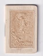 Mini Calendrier Almanach 1903 Parfumerie Delettrez Paris - Petit Format : ...-1900