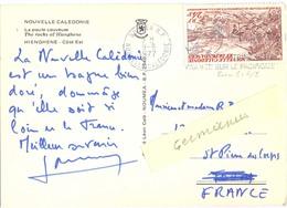 NOUVELLE-CALEDONIE NOUMEA R.P. OMec SECAP 9-8-1977  TIMBRE P.A.  24 F. YT 171 - Nueva Caledonia