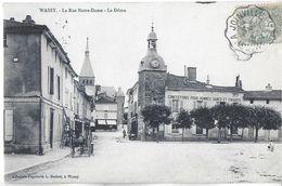 WASSY 52 HAUTE-MARNE LA RUE NOTRE-DAME LE DÔME EDIT. L. SUCHET  DOS NON DIVISE - Wassy