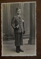Oude Foto Postkaart  1944  Door  Marcel  De  RIJCK   KERKSKEN - Geïdentificeerde Personen