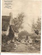 88 - Contrexeville - Affichette Publicitaire Vins Et Spiritueux Roger Jacquot - Food