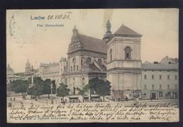 POLAND LWOW OLD POSTCARD - Poland