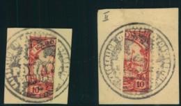 1905, 1. PONAPE PROVISORIUM Rechte Und Linke Hälfte. Zusammen Selten Angeboten - Colony: Caroline Islands