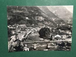 Cartolina Valstagna - Il Ponte Sul Brenta - 1956 - Vicenza