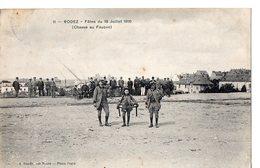 8 -  RODEZ - Fêtes Du 10 Juillet 1910 (Chasse Au Faucon) - Rodez