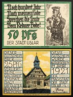 GERMANIA ALEMANIA GERMANY Notgeld Uslar 25  50 Pfennig 1921  Lotto 2660 - [ 3] 1918-1933 : República De Weimar