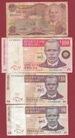 Malawi 4 Billets Dans L 'état Lot N °1 (70) - Malawi