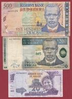 Malawi 3 Billets Dans L 'état Lot N °3 - (72) - Malawi