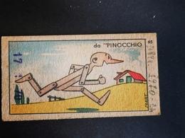 Pinocchio Giuseppe Grasso Genova  Biglietto Ticket Bilancia Pesapersone Cartonato Weight Balance - Collezioni