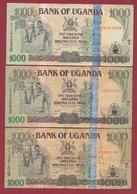 Ouganda  3 Billets Dans L 'état  Lot N °1 (78) - Ouganda