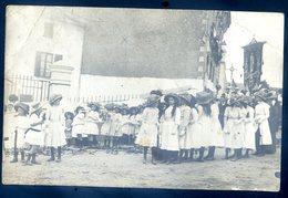 Cpa Carte Photo  Envoyée D' Ancenis -- Procession En 1910  LZ94 - Ancenis