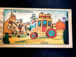 Far West Cow Boy    Giuseppe Grasso Genova  Biglietto Ticket Bilancia Pesapersone Cartonato Weight Balance - Old Paper