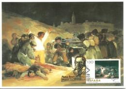 Carte Maximum - Espagne - Goya - El Tres De Mayo De 1808 En Madrid - Museo Del Prado - Cartes Maximum