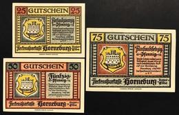 GERMANIA ALEMANIA GERMANY Notgeld Gutschein 25 50 75  Pfennig 1921 ( 3 Pz ) Lotto 1944 - [ 3] 1918-1933 : República De Weimar