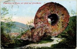 Bitschwiller-lès-Thann (68) - Ruines Du Château De Engelsbourg - Oeil De La Sorciere - Thann