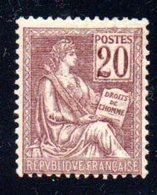 FRANCE  -  N°  113  - N+  - - 1900-02 Mouchon