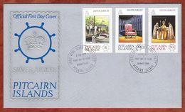 FDC, Silberjubilaeum Queen, Adamstown 1977 (82652) - Briefmarken