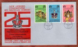 FDC, Silberjubilaeum Queen, Vila 1977 (82653) - FDC