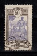 Oceanie  - YV 55 , Obliteration Petit Bureau (de Tahiti ?) à Identifier - Oblitérés