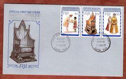 FDC, Silberjubilaeum Queen, Suva Fiji 1977 (82655) - Fiji (1970-...)
