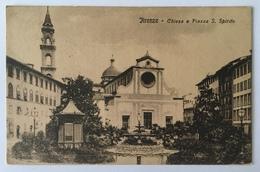 V 12008 Firenze - Chiesa E Piazza S. Spirito - Firenze
