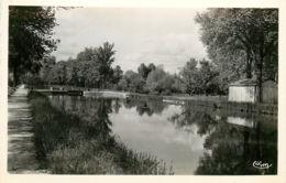 18* ST AMAND MONTROND CPSM Canal De Berry - Saint-Amand-Montrond