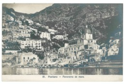 Italie. Positano, Lot De 2 Cartes : Panorama Da Mare / Veduto Dalla Via Per Sorrento (10169) - Italia